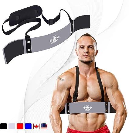C.P Kraftsport /& Gewichtheben Bizepstrainer Sports Arm Blaster Bizeps Isolator f/ür Bodybuilding Trizeps Bomber