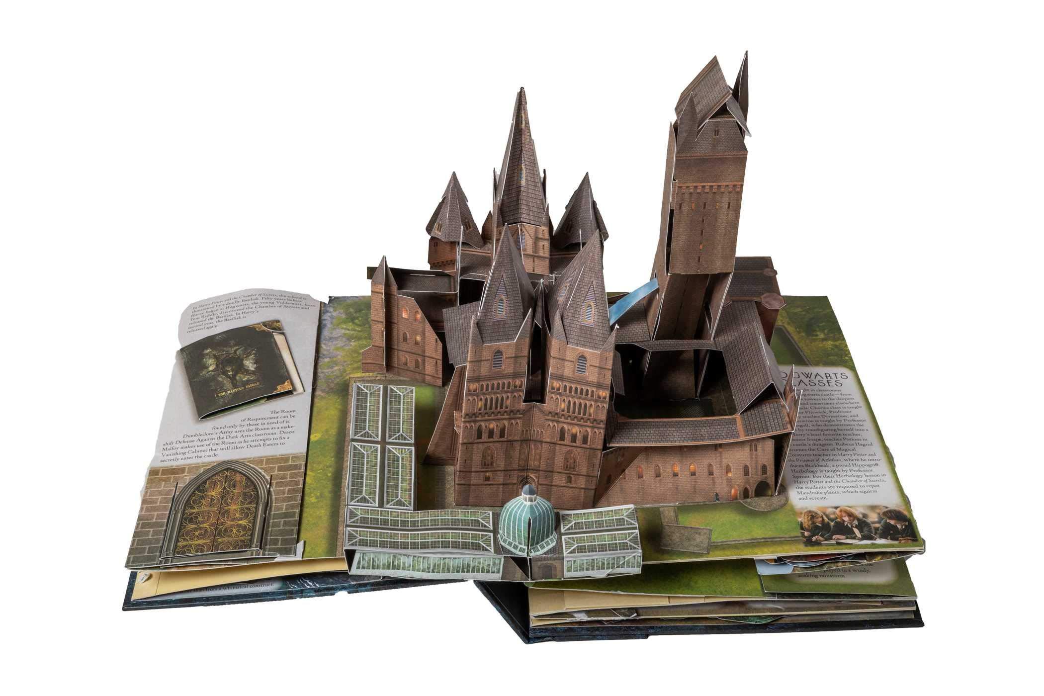Harry Potter A Pop Up Guide To Hogwarts Matthew Reinhart