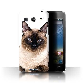 Carcasa/Funda STUFF4 dura para el Huawei G520 / serie: Razas de gatos: Amazon.es: Electrónica