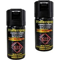 kh security Pfefferspray Extra stark 12% OC, 2-er Pack, 80 ml, 130123set2