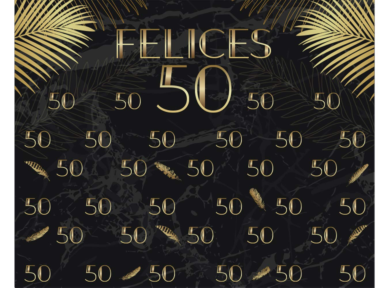 Photocall X-Banner Extensible 100% Felices 50 | 250x200cm ...