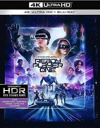 Amazon com: Ready Player One (4K Ultra HD + Blu-ray + Digital) (4K