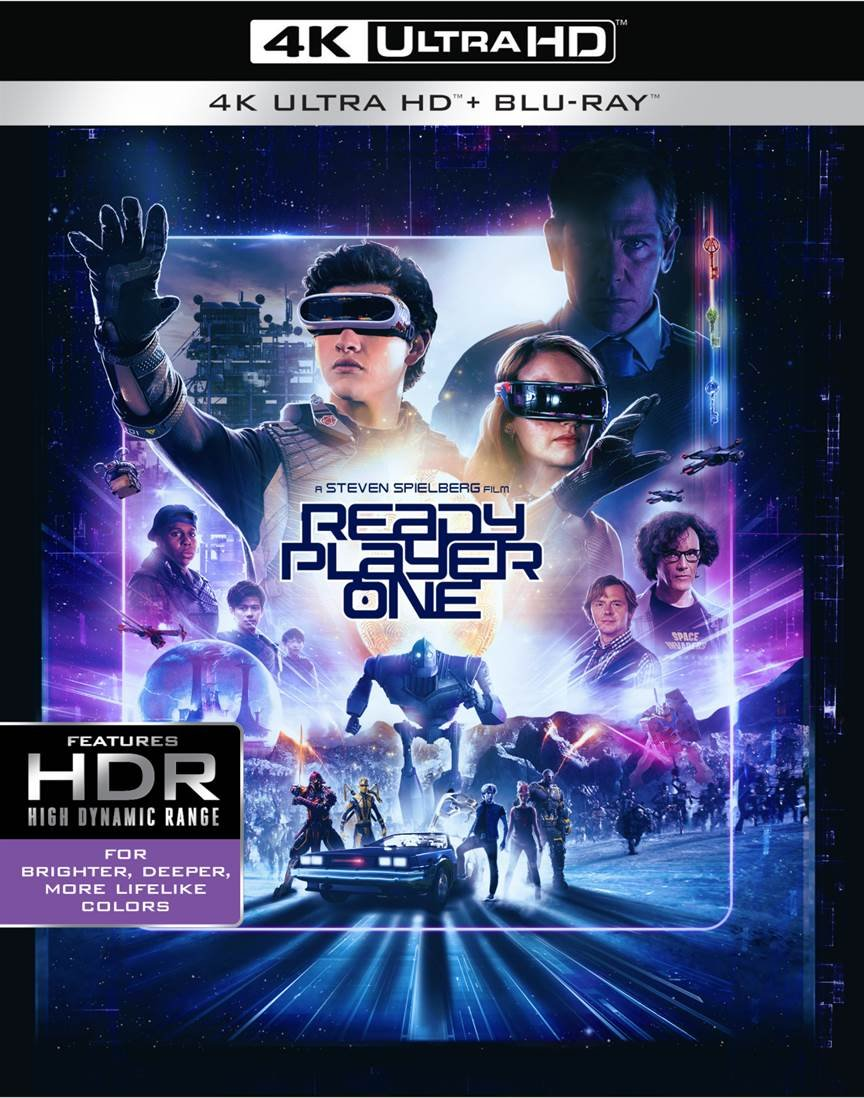 Blu-ray : Ready Player One (With Blu-Ray, 4K Mastering, Dolby, AC-3, 2 Pack)