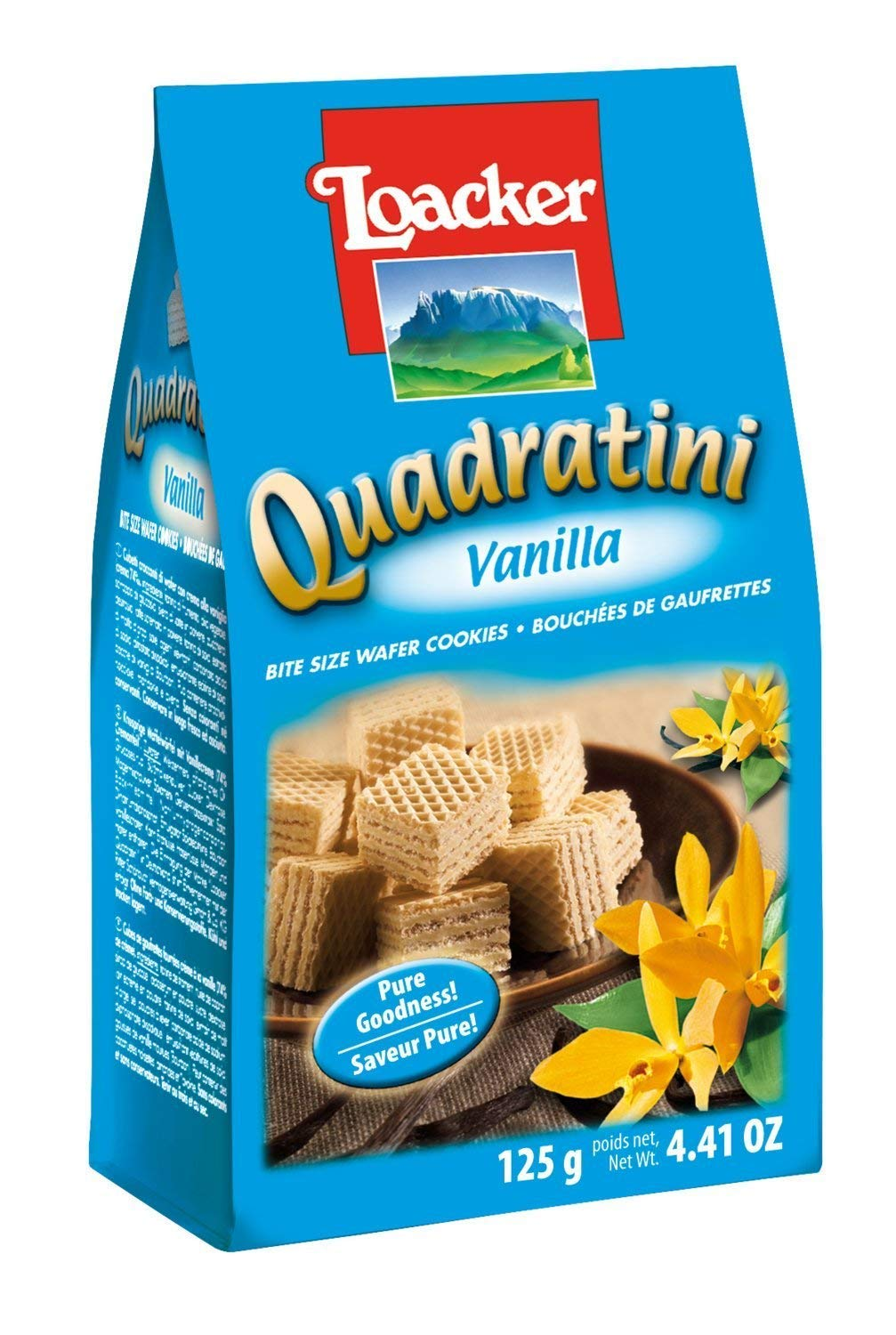 Amazon.com : Loacker Vanilla Quadratini 125 g (Pack of 6) : Grocery & Gourmet Food