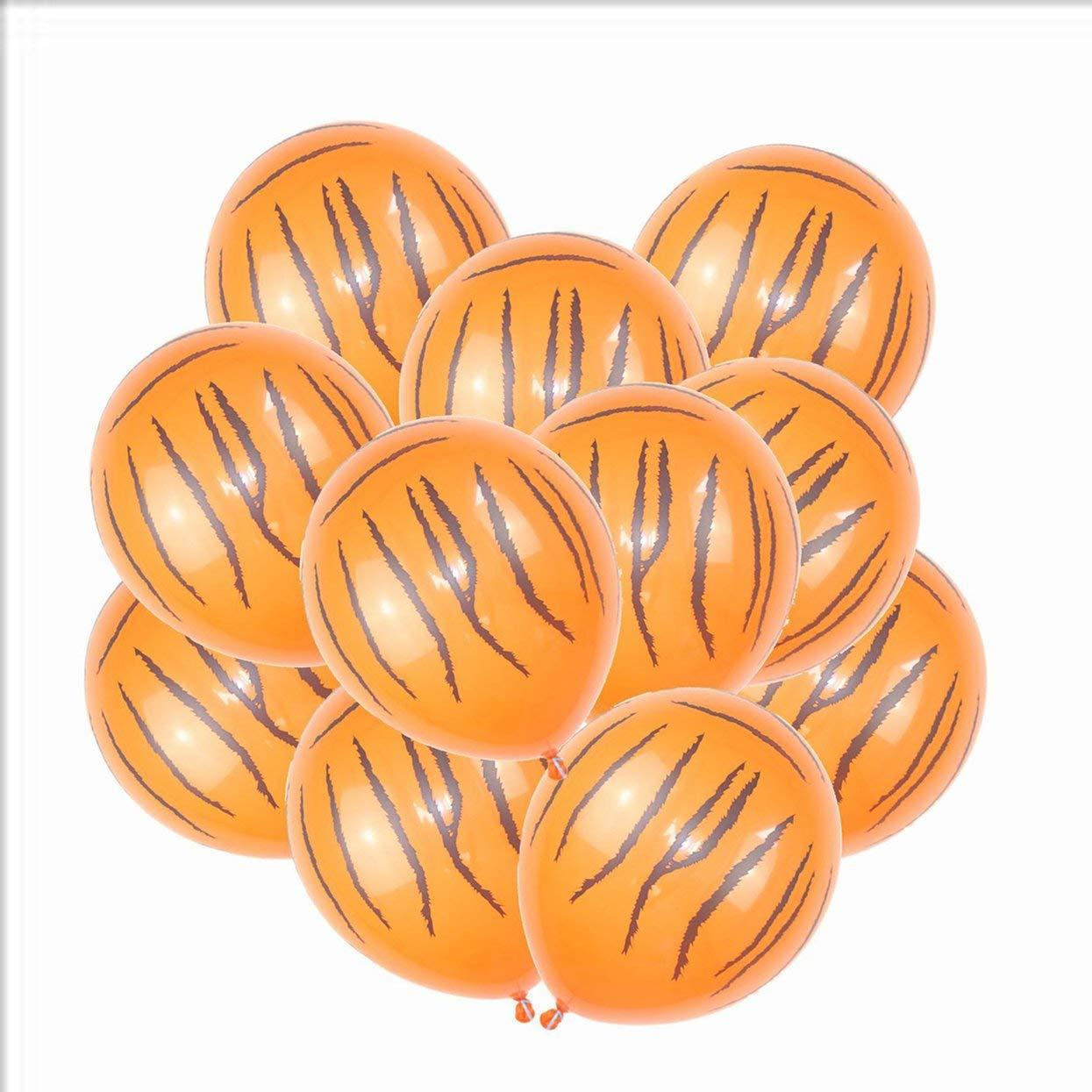 Set 12 Pollici Animale Giungla Moda Stampa Festa di Compleanno Decorazione Palloncini Regalo per Bambini Decorazione di Cerimonia Nuziale del Partito Tellaboull 10pcs