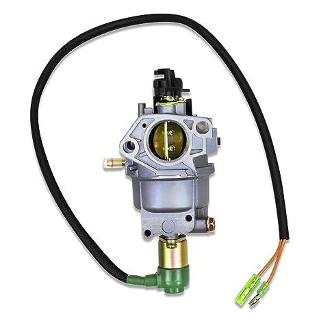 amazon com carburetor for honda eb5000x em5000s em5000sx em5000x rh amazon com honda eb5000 generator carburetor diagram