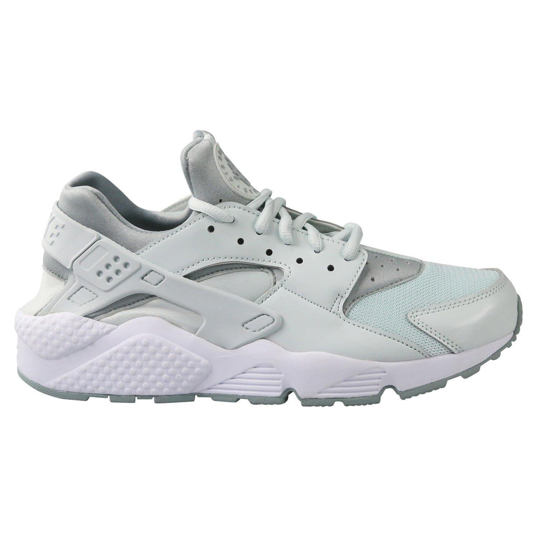Nike Wmns Air Huarache Run, Zapatillas para Mujer 44 EU|Grau (Barely Grey/White/Light Pumice)