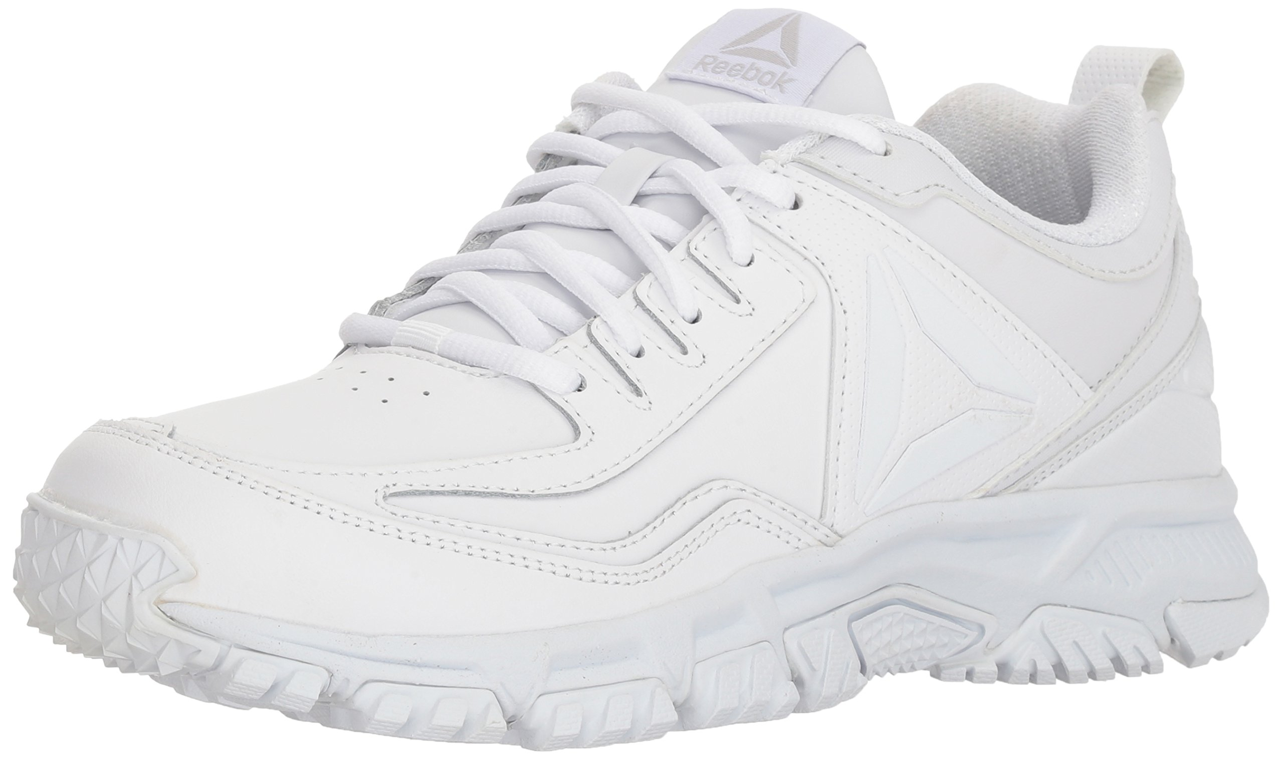 99e3cab376 Reebok Men's Ridgerider Leather, White, 9 M US