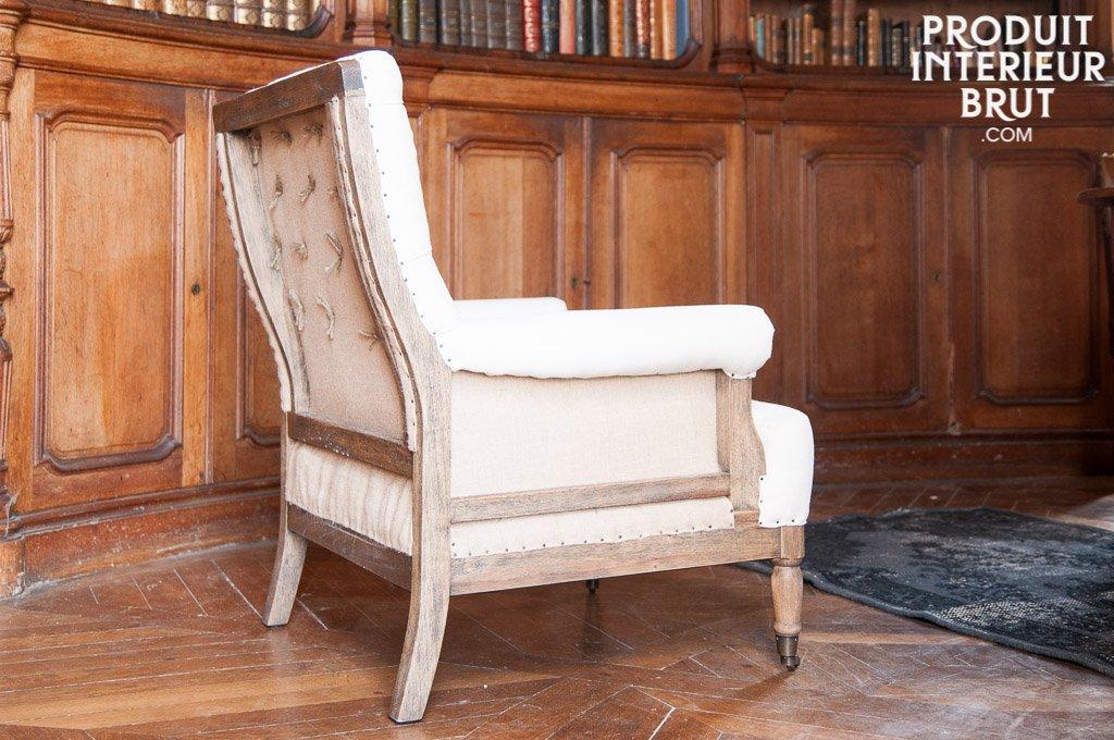 pib - Sillones - Sillón Vintage de Lino Edmond, Simple y ...