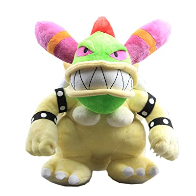 uiuoutoy Super Mario Bros Female Bowser Koopa Stuffed Plush 11\'\': Toys & Games [5Bkhe1201814]
