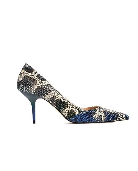 bd4c1f24e35 Zara Women s Printed medium heel shoes 5206 101 (38 EU