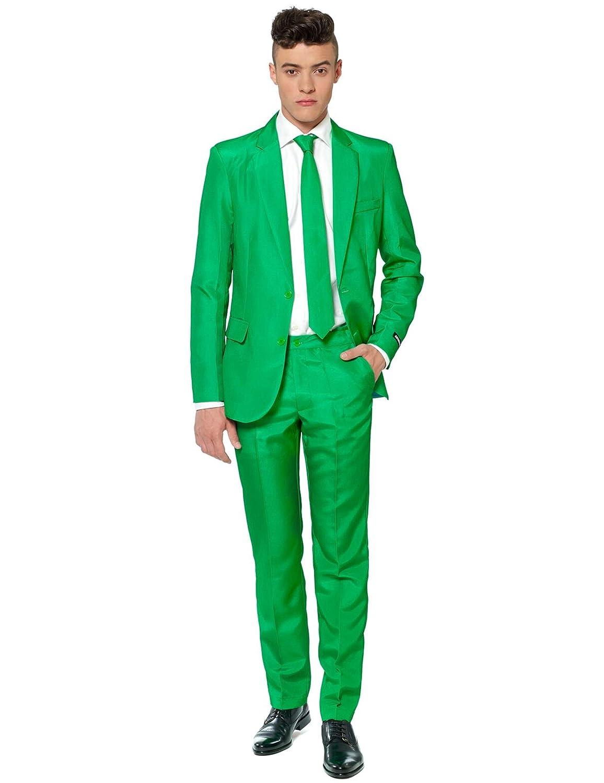 Generique - Traje Mr Solid Verde Suitmeister Hombre XXL ...