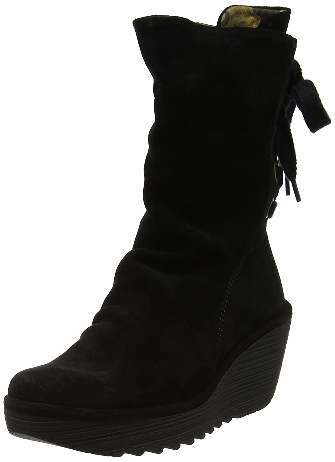 Fly London Yada, Botas para Mujer41 EU|Negro (Black)