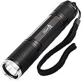Ultrafire Flashlight Small Tactical Flashlight,UltraFire UF2100 XM-L2 LED 900 Lumens,Water Resistant 5 Modes,Mini EDC Pocke Torch Light (Flashlight Only)