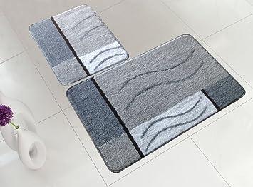 Badezimmer-Garnitur (für Hänge-WC) 2 Teilig: Amazon.de: Küche & Haushalt