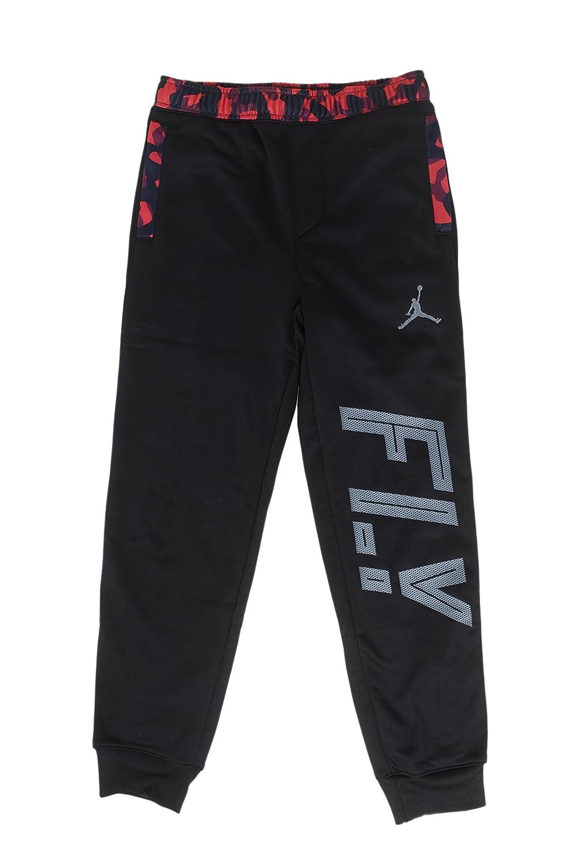 Jordan Big Boys ' therma-fit Camo Pieced Joggerパンツ Large ブラック/レッド(Black/Gym Red) B0173M2V8Q