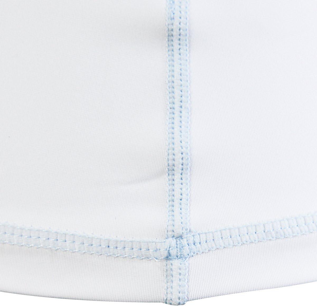 LayaTone Rashguard Femme Lycra Surf T-Shirt Maillot Protection Solaire Anti-UV Tankini Maillot de Bain Manches Longues Haut Top pour Surf Plage Natation Plong/ée