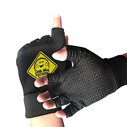 Image Unavailable. Image not available for. Color  shower curtain liner  Cycling Gloves Little Miss Fucking Sunshine Men s Women s ... 687489deb