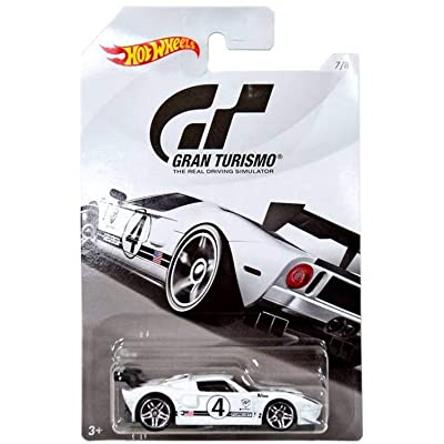 Hot Wheels FORD GT 2020 GRAN TURISMO Series #2 White FORD GT 1:64 Scale Collectible Die Cast Metal Toy Car Model #7/8: Toys & Games