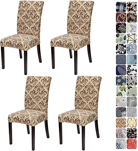 Stretchy Spandex Dining Chair Covers Slipcover Washable Wedding Banquet Decor