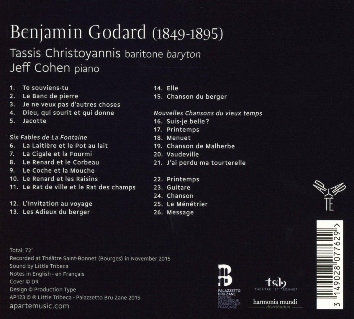Benjamin Godard (1849-1895) 71l6Pw3aXJL._SL1200_