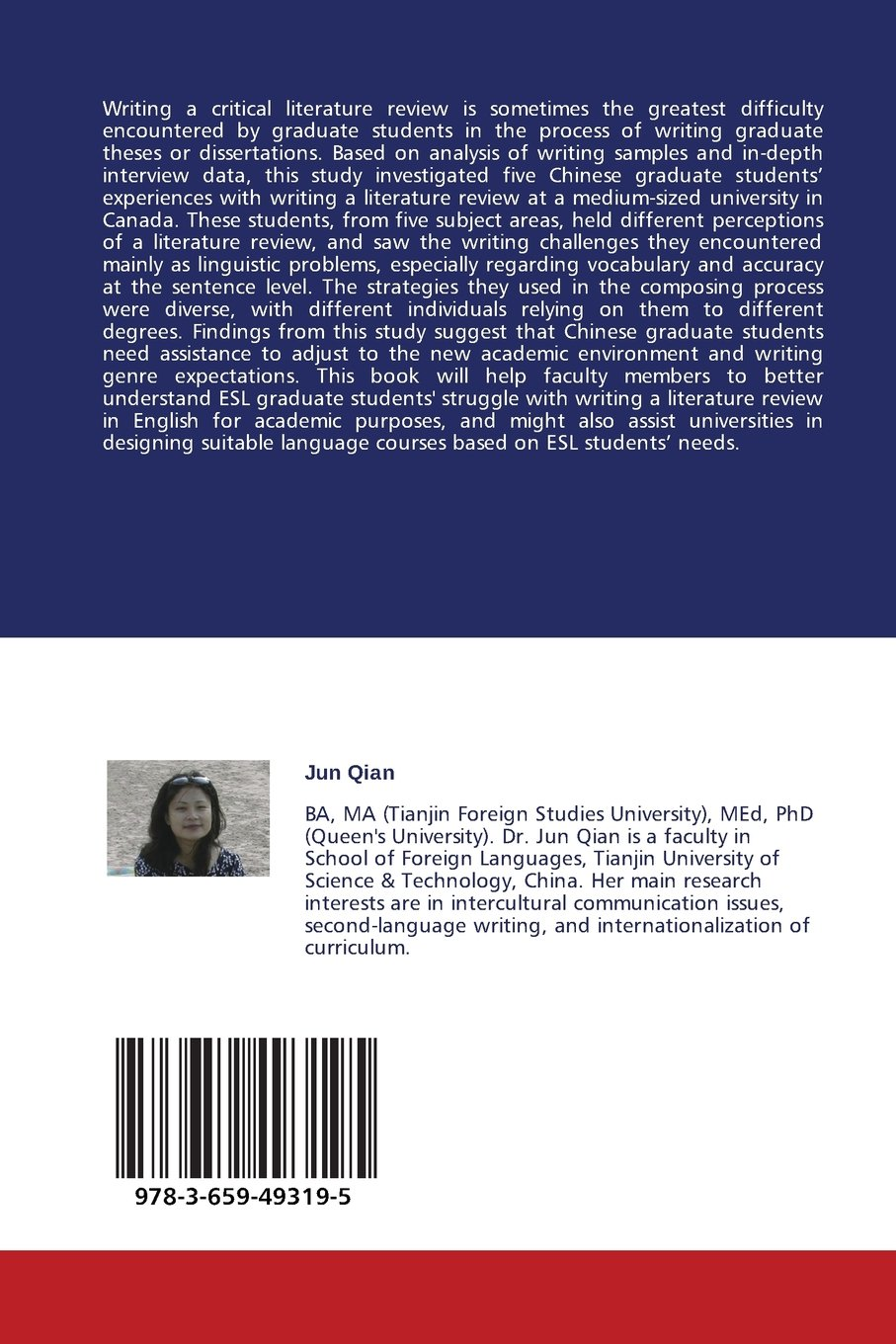 Writing a Literature Review in a Second Language: The Experiences of Chinese Graduate Students