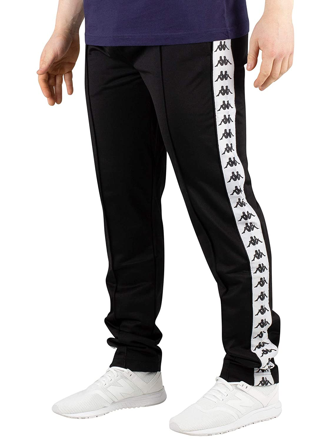 a6b7c32e Kappa Men's 222 Banda Astoria Slim Joggers, Black at Amazon Men's ...