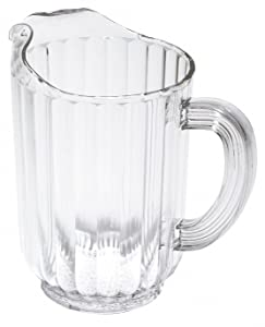 Beverage Pitcher, 32 Oz, Clear
