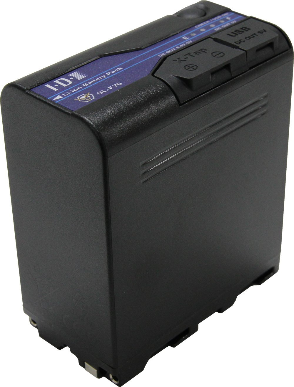 IDX SL-F70 72Wh(7.2V/9.9Ah) Lマウント7.2Vタイプリチウムイオンバッテリー   B07F3JWLPD