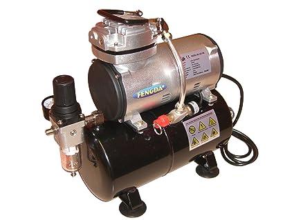 Compresor AS-186 nuevo modelo compresor sin aceite 3 litros depósito/memoria de aire