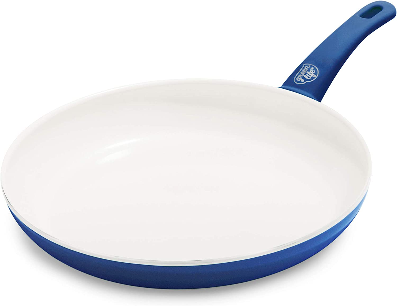 GreenLife Soft Grip Healthy Ceramic Nonstick, Frying Pan, 12