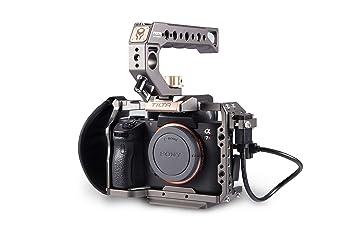 Tiltaing - Kit de Jaula para Sony A7/A9, Color Gris (Compatible ...