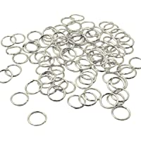 200 PCS Open Jump Rings – Yushulin10 mm Stainless Steel Open Jump Rings Connectors Jewelry Findings