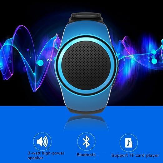 11 opinioni per Altoparlante Bluetooth da Polso,CAMTOA Wireless Bluetooth Wrist Speaker,Lettore