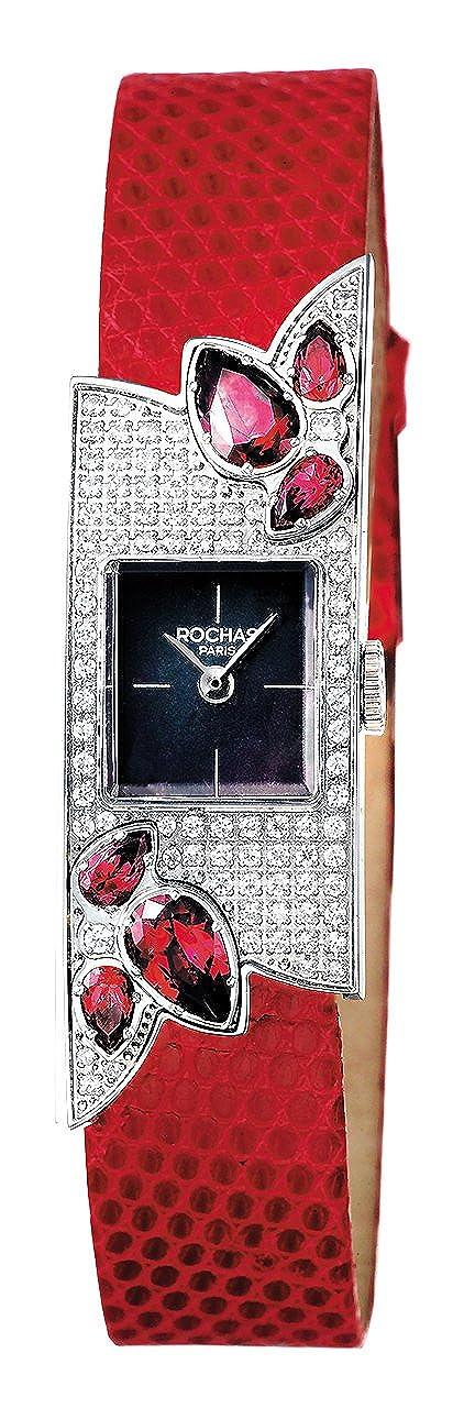 [ロシャス パリ]ROCHAS PARIS 腕時計 RJ73 RH906101WRBR レッド ダイアモンド ガーネット キラキラ レディース [正規輸入品] [時計] B00NONR2DI