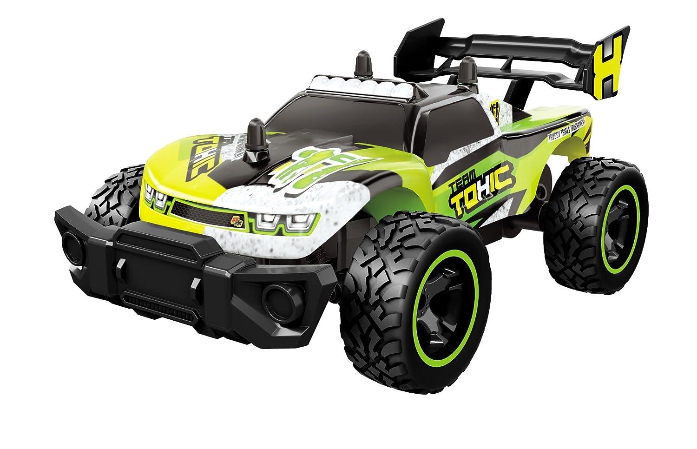 Dickie Toys 201119114 - RC Toxic Flash, funkferngesteuertes Rennfahrzeug inklusive Batterien, 24 cm