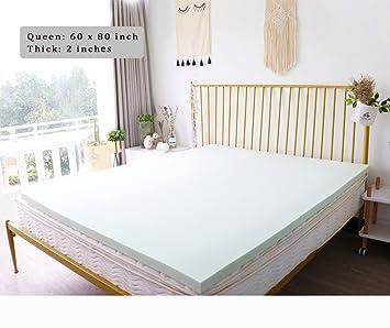 Amazon Com Shufoam 2 Inch Memory Foam Mattress Comfortable Mattress