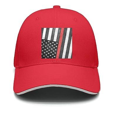 seventtynine Firefighter Thin Red Line Flag Unisex Trucker Hats Snapback hat 0898322e1020