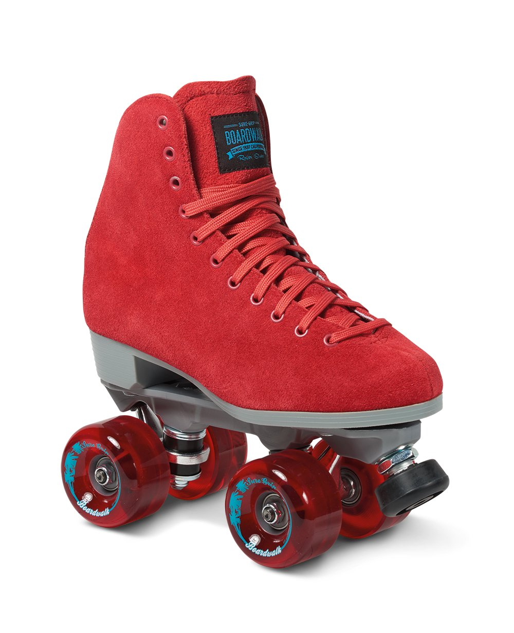 Roller skates red - Amazon Com Sure Grip Red Boardwalk Skates Outdoor Sports Outdoors