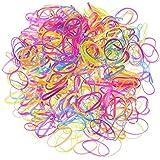 YeahiBaby Élastique cheveux élastiques pour enfants coiffure 2000 Pieces (couleur aléatoire)