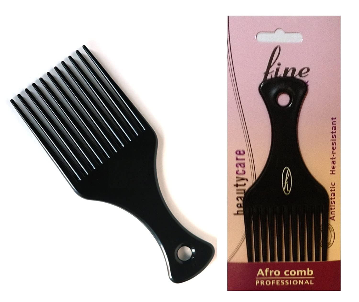 Afro Detangling Comb with Long & Wide Teeth (108-00) Fine Lines (UK) Ltd