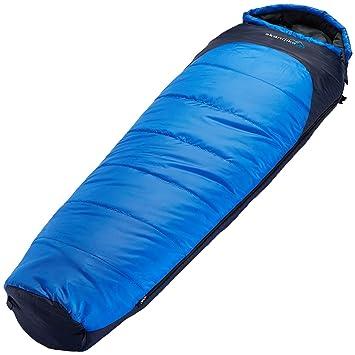 skandika Highland Mummy - Saco de Dormir Momia para Acampada, Color Azul, Talla 220 x 70 cm: Amazon.es: Deportes y aire libre