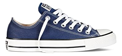 Image Unavailable. Image not available for. Color  Converse Chuck Taylor OX  All Star Mens Sneakers Navy m9697-4.5 173c11fcd