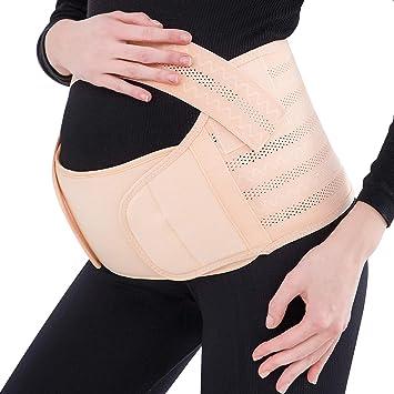 68a9a1f0559c0 Maternity Belt, Pregnancy Support Belt, Abdomen Waist Back Pelvic Band,  Breathable & Comfortable