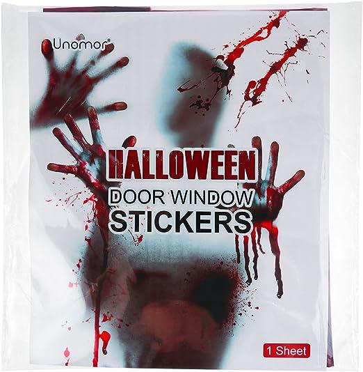 Halloween Scary Prop Haunted House Decoration Bloody Zombie Creepy Decor AL