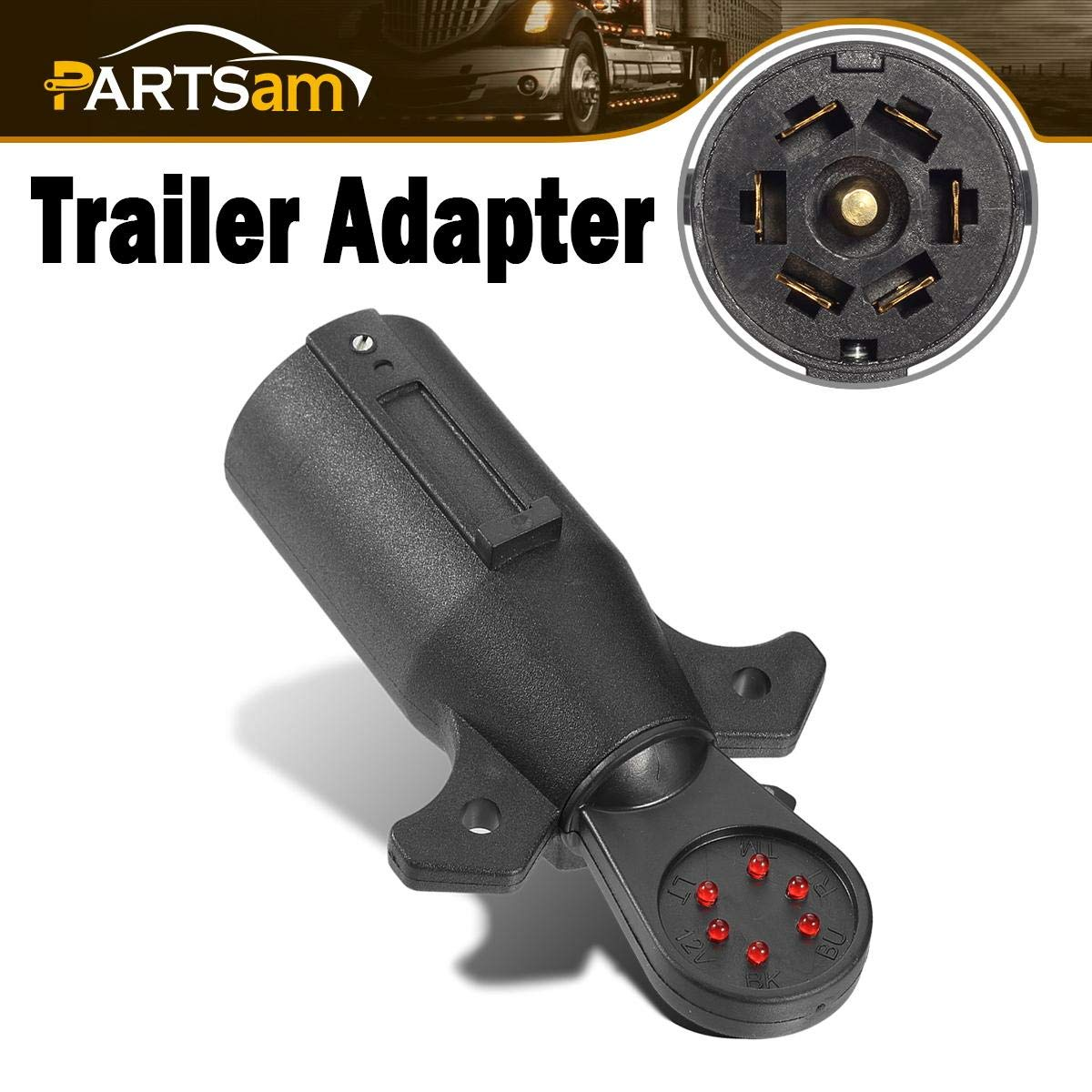 Depot Your One Stop Trailer Shop 7 Blade Rv Type Plug Trailer Wiring