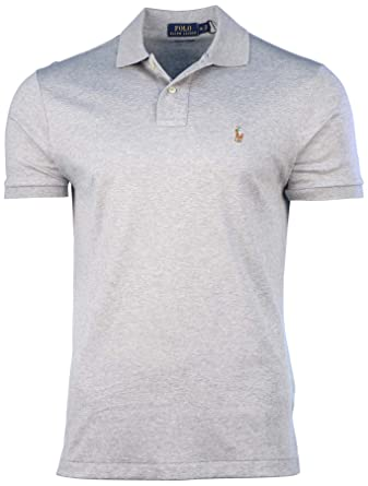 bde756516 Image Unavailable. Image not available for. Color: Polo Ralph Lauren Men's  Pima Soft Touch Pony Shirt-Andover ...