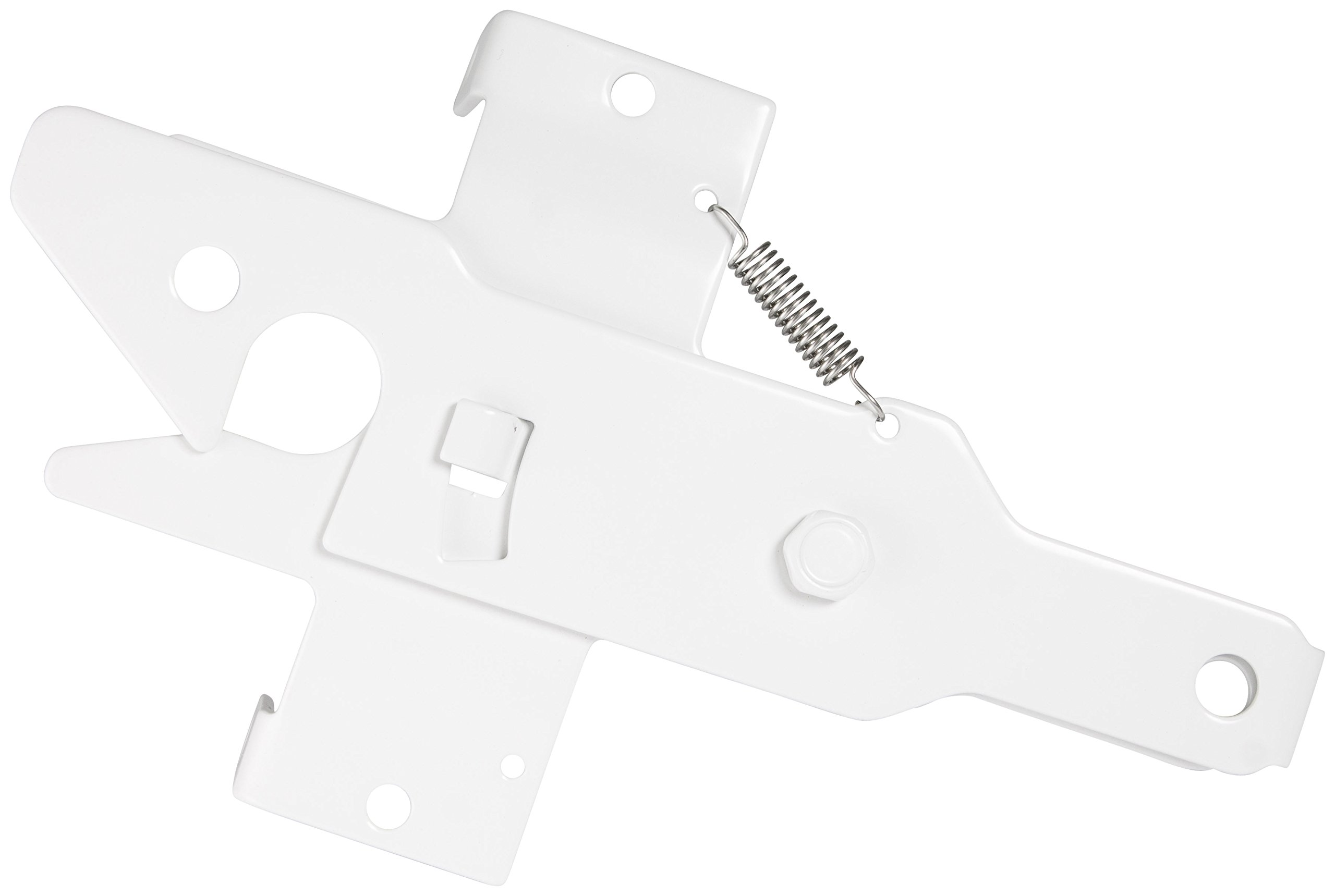 Nationwide Industries Stainless Steel Gate Latch For Vinyl - Pad-lockable, White by Nationwide Industries (Image #1)