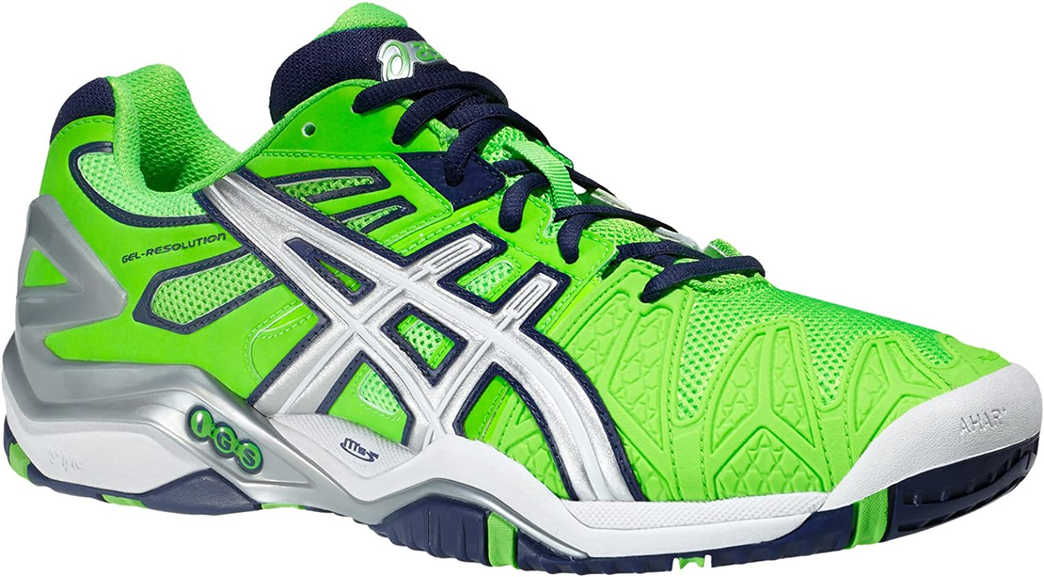 Color: Blue-Green-Silver - Size