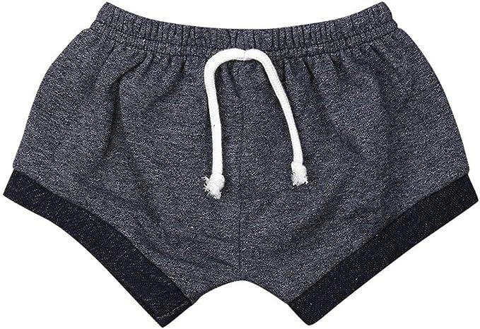 FELZ Pantalones Corto Bebé Niños Niñas, Casual Pantalones de ...